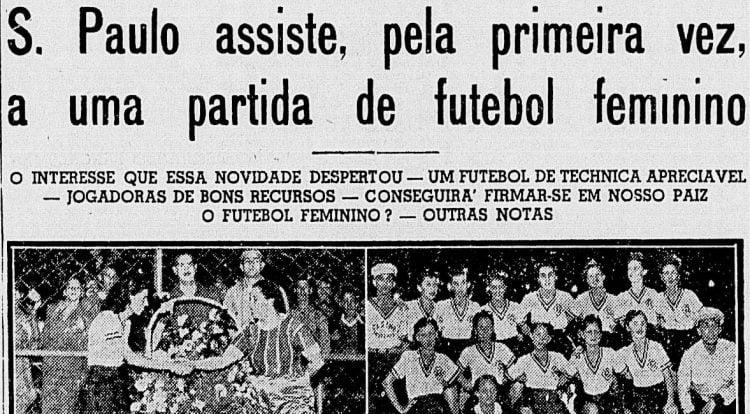Recorte do Jornal Correio Paulistano, na edição de 19 de maio de 1940