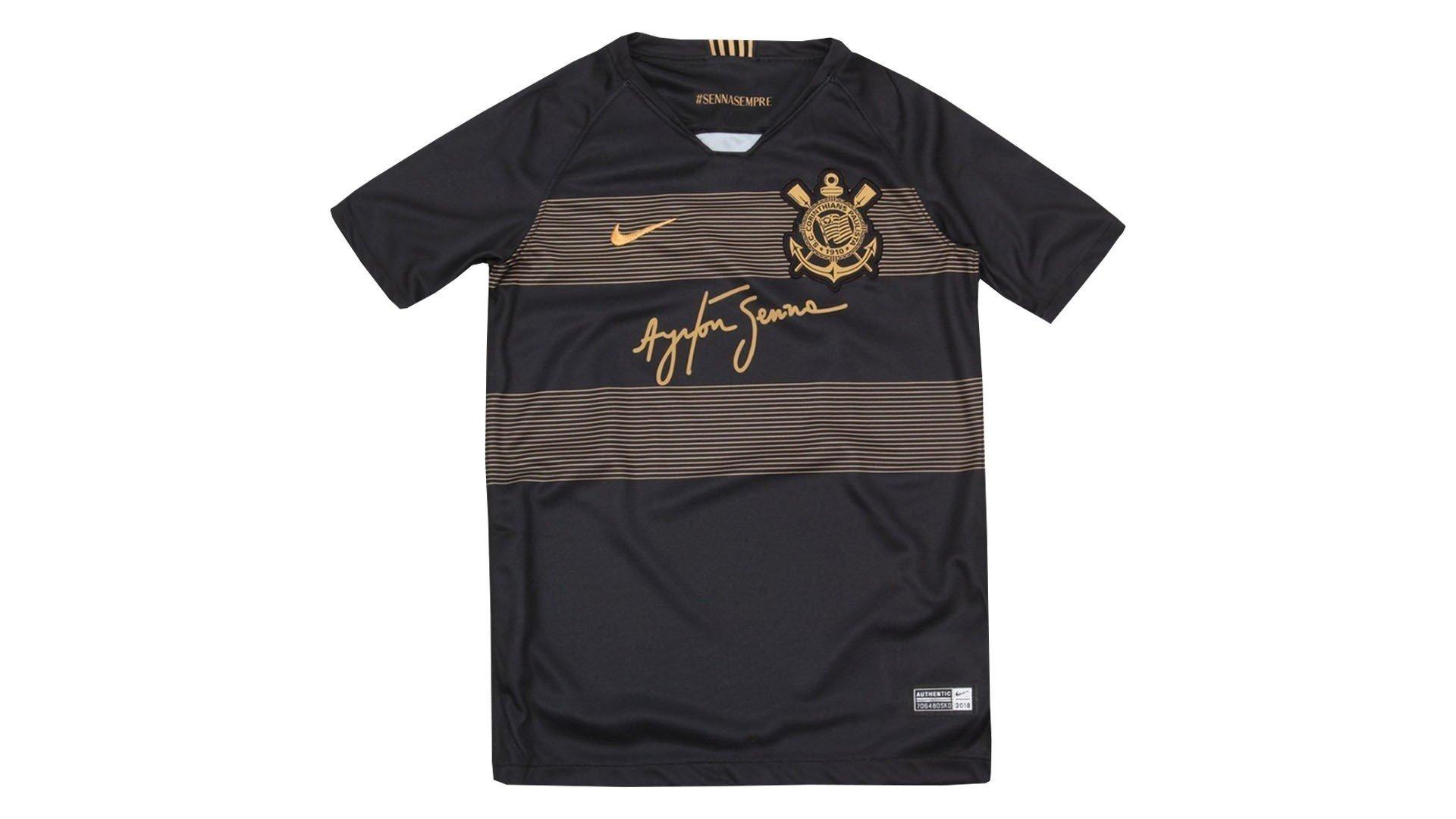 Camisa do Corinthians Ayrton Senna