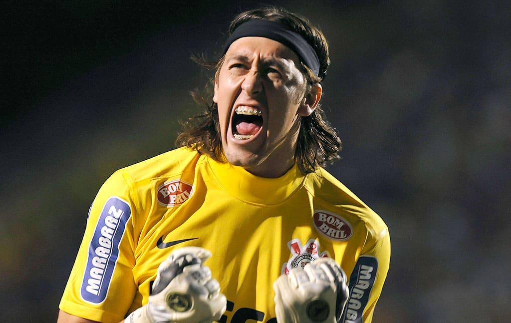 Cássio, jogador do Corinthians