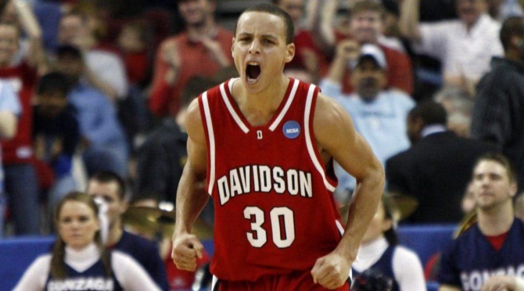 Stephen Curry em Davidson