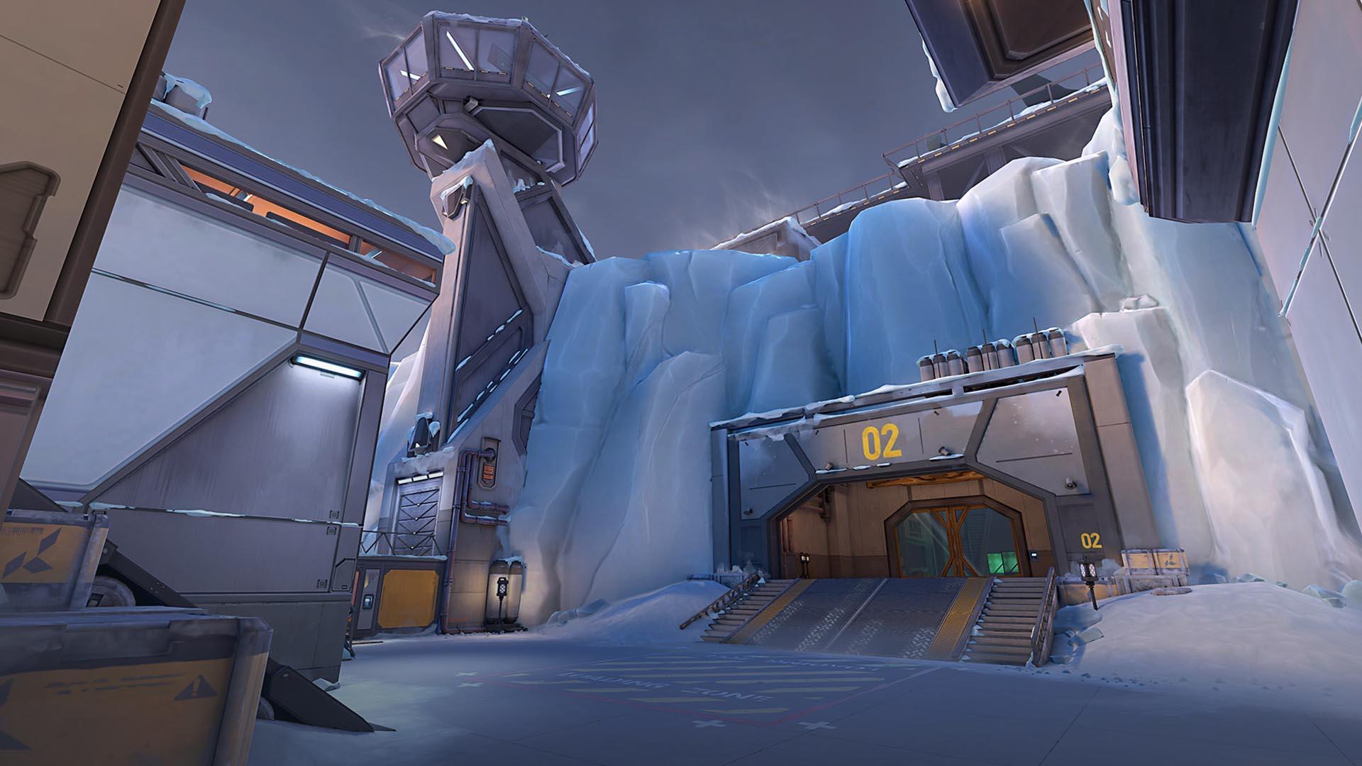 Mapa Icebox do Valorant