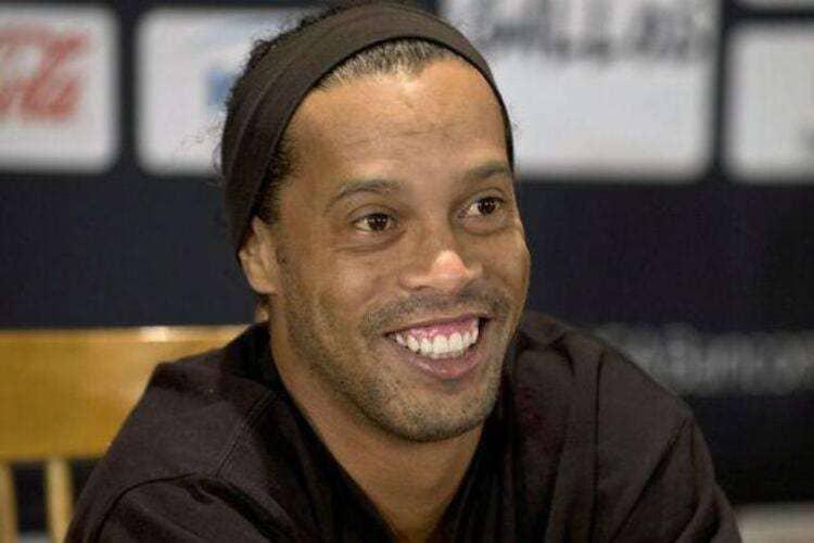 Ronaldinho Gaúcho, ex-jogador de futbol