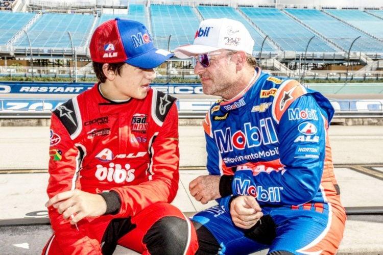 Dudu e Rubens Barrichello