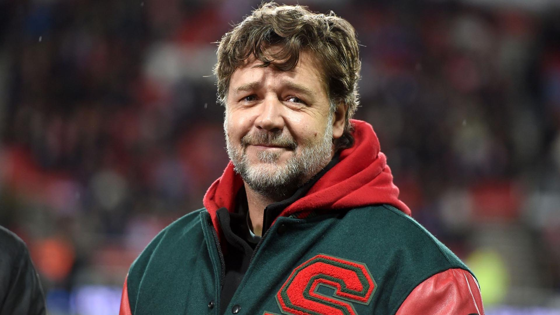 Russell Crowe dono time