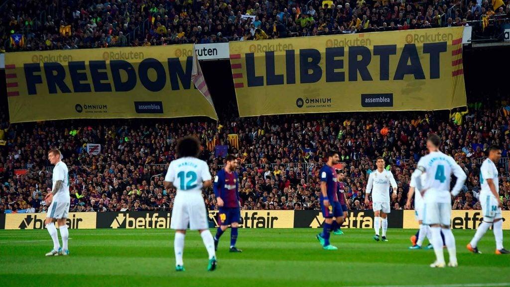 politica barcelona real madrid