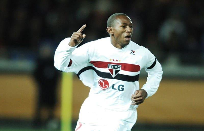 Mineiro, ex jogador do São Paulo