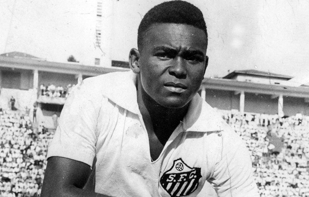 Coutinho, ídolo do Santos