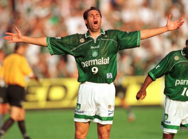 Evair, ex-jogador do Palmeiras