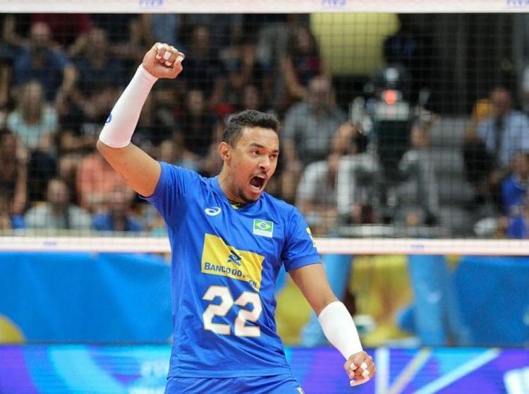 Imagem de Maique na Seleção Brasileira