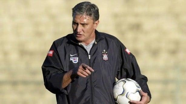 Tite no Corinthians em 2004