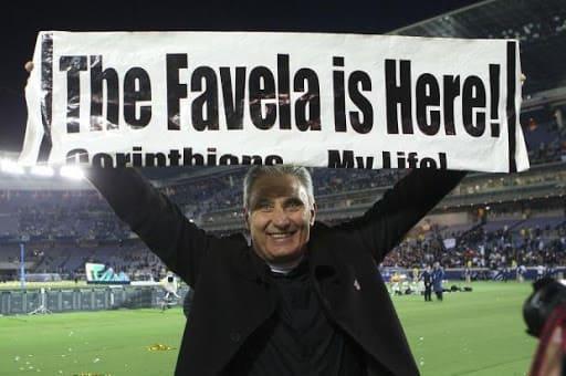 Tite como técnico do Corinthians