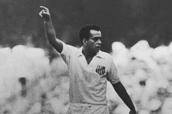 Zito, ídolo do Santos
