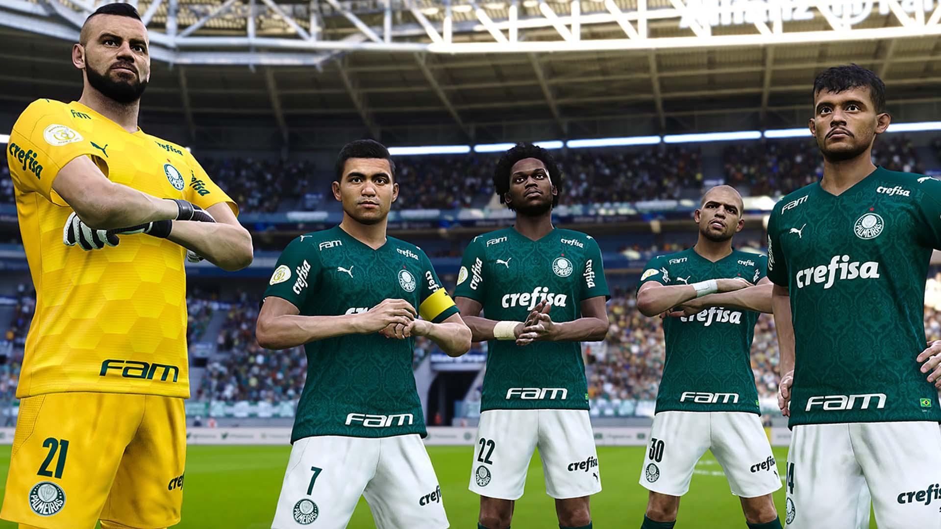 Times brasileiros no PES e no FIFA
