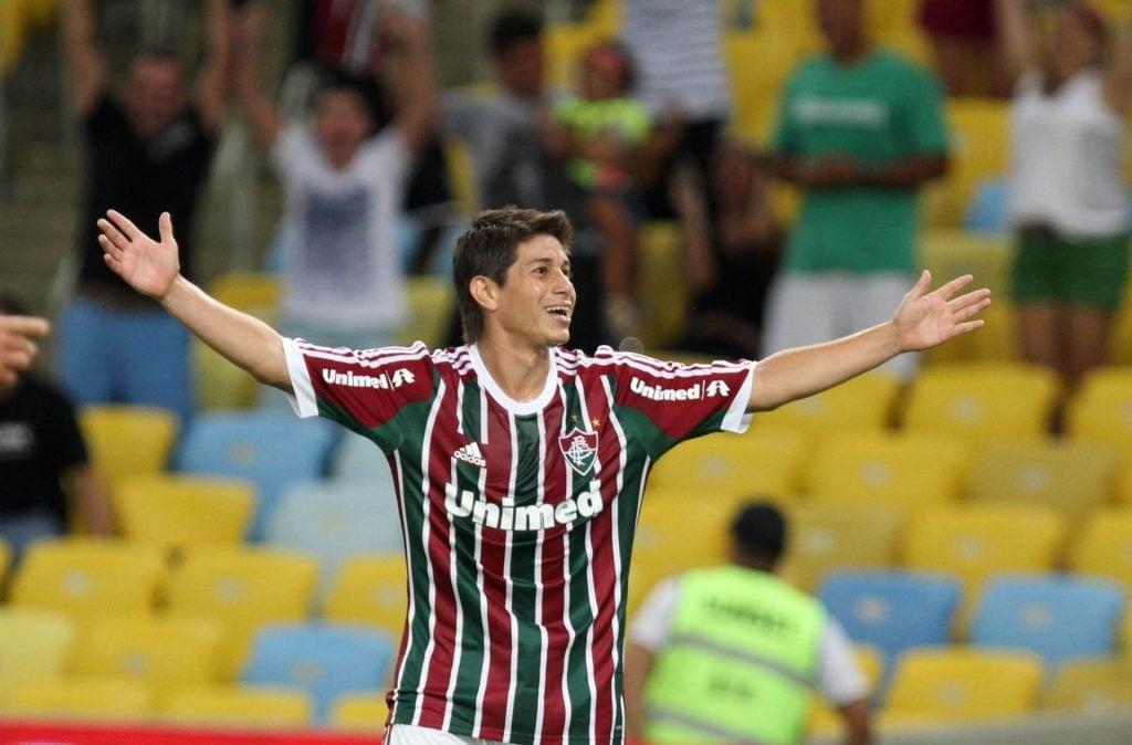 Conca, ídolo do Fluminense