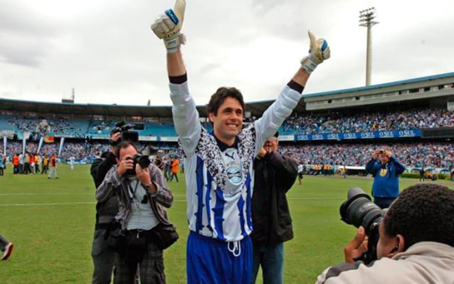 Danrlei, ídolo do Grêmio