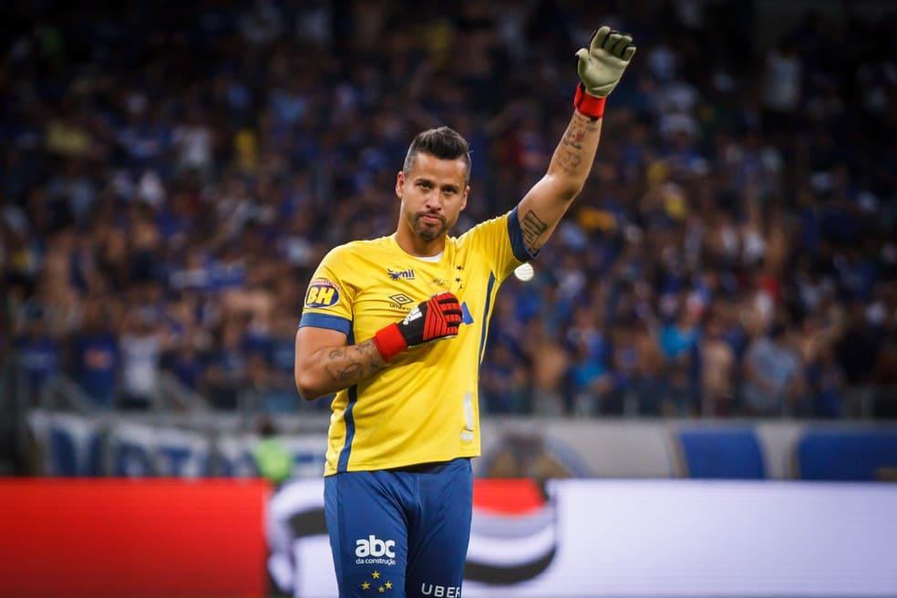 Fábio, ídolo do Cruzeiro