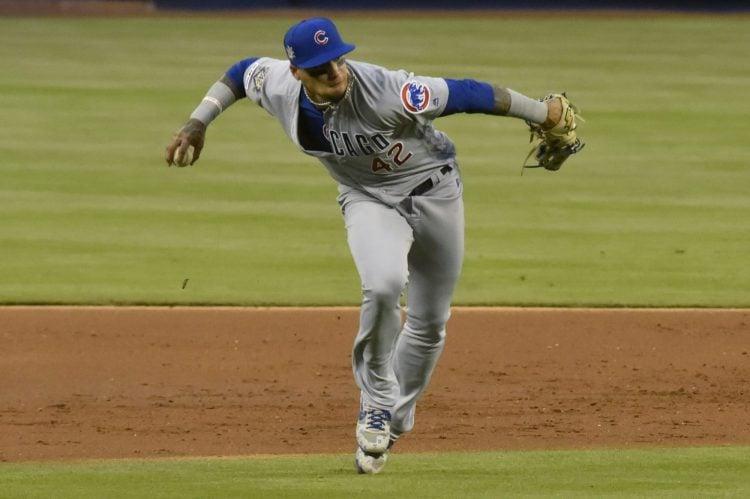 Javier Baez, shortstop do Chicago Cubs