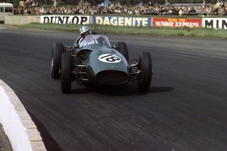 Carro da Aston Martin na Fórmula 1