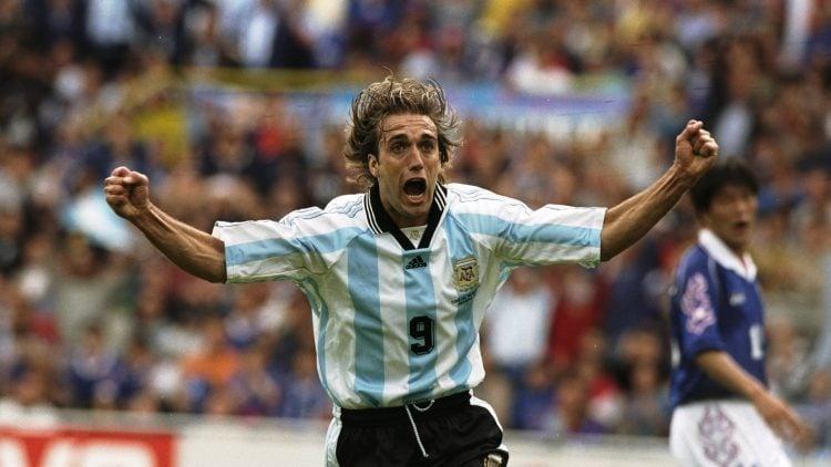 Gabriel Batistuta, um dos maiores jogadores da Argentina