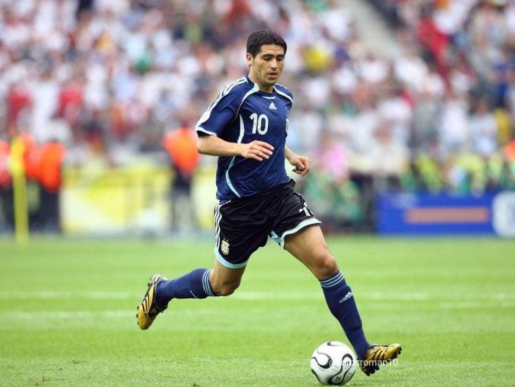 Juan Román Riquelme, um dos maiores jogadores da Argentina