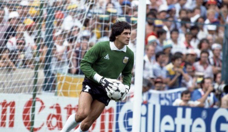 O goleiro Ubaldo Fillol é um dos maiores jogadores da Argentina