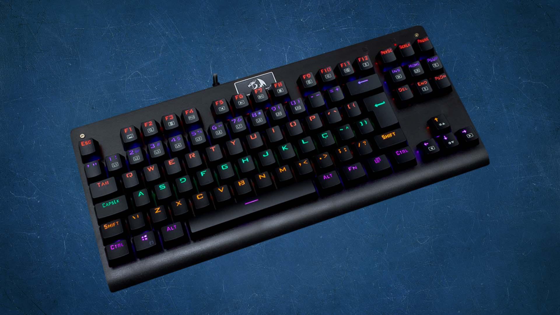 teclados gamers baratos