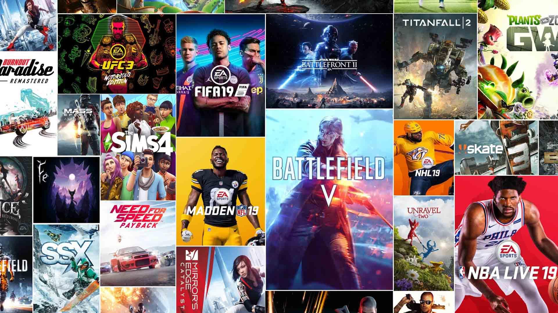 Quais são os jogos do EA Access