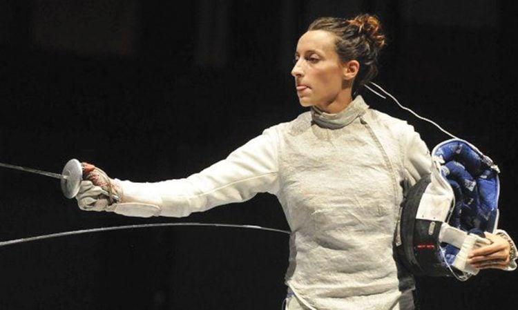 Elisa Di Francisca está entre as melhores esgrimistas do mundo