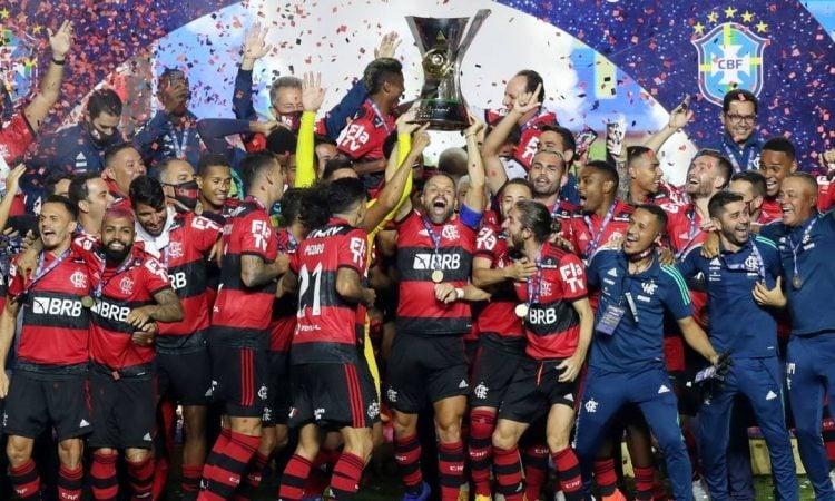 O Flamengo vai para a Libertadores 2021 como bicampeão brasileiro