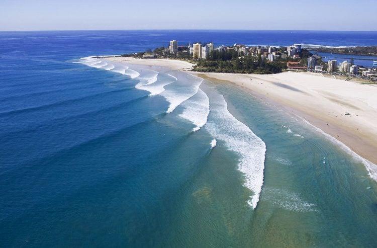 A Gold Coast é um dos melhores picos de surf do mundo