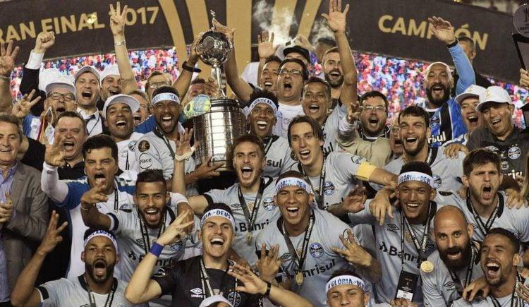 O Grêmio é um dos maiores campeões da Libertadores