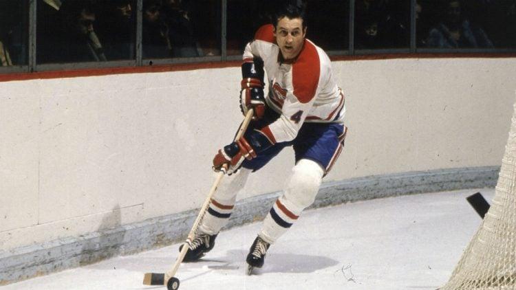Jean Beliveau, um dos maiores jogadores da NHL em todos os tempos