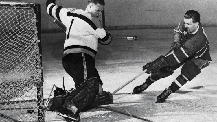 """Maurice """"Rocket"""" Richards é um dos maiores jogadores da história da NHL"""