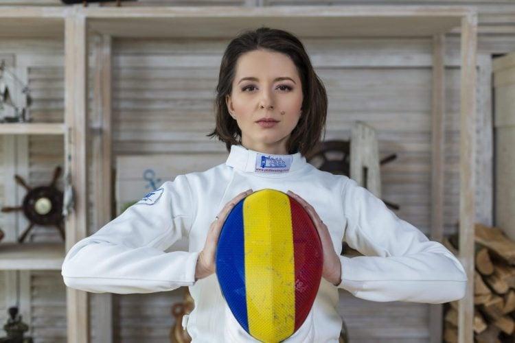 Ana Maria Popescu é uma das melhores esgrimistas do mundo