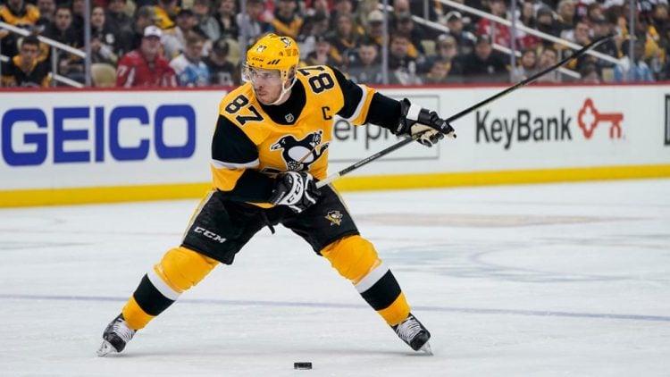 Sidney Crosby é um dos mais novos a entrar na lista dos maiores jogadores da NHL em todos os tempos