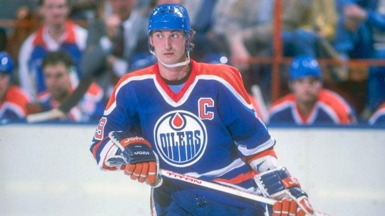 Wayne Gretzky é considerado o melhor jogador da história da NHL