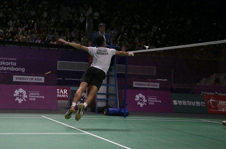 Regras do Badminton em simples