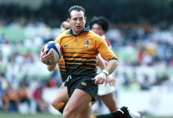 David Campese foi o melhor jogador de rugby do mundo em 1991