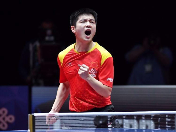Fan Zhendong é o melhor jogador de tênis de mesa do mundo