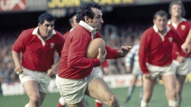 Gareth Edwards foi o melhor jogador de rugby do mundo antes da existência dos Mundiais