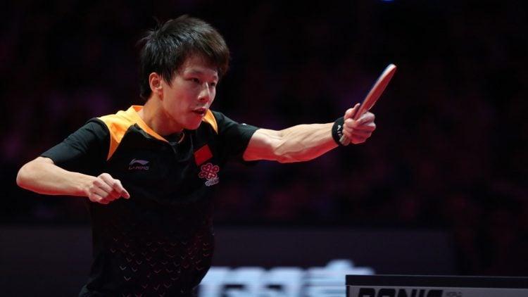 Lin Gaoyuan é um dos melhores jogadores de tênis de mesa atualmente