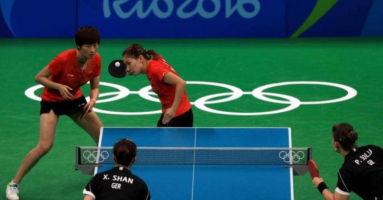 Tênis de Mesa nas Olimpíadas
