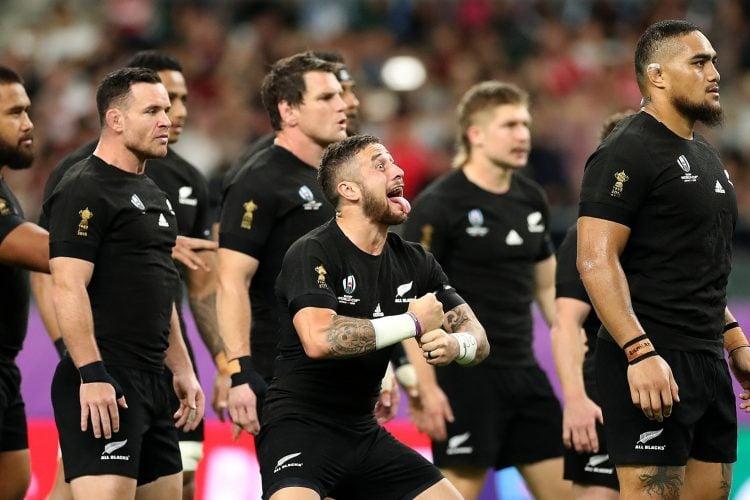 Os All Blacks, a seleção de rugby da Nova Zelândia