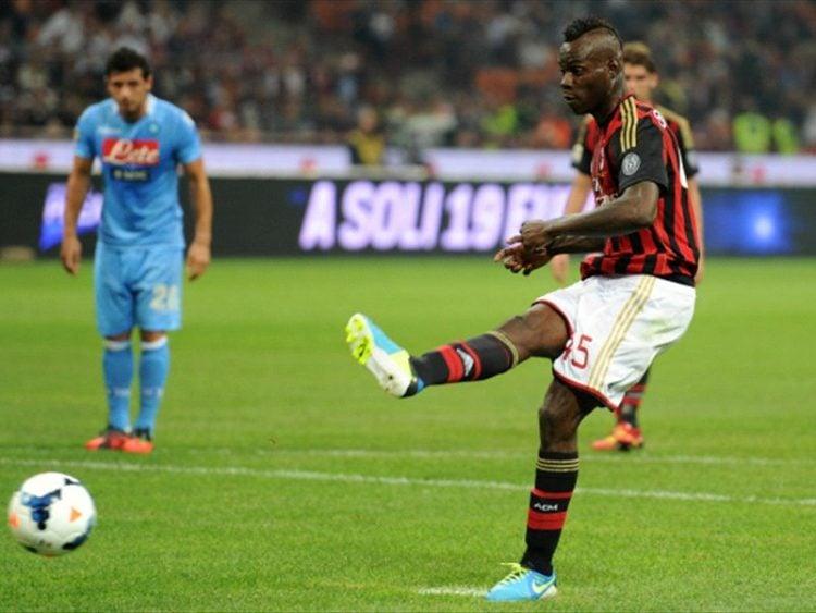 Balotelli foi, por algum tempo, o melhor batedor de pênalti do mundo