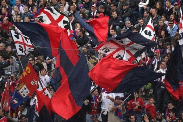 O Cagliari está entre os times com as maiores torcidas da Itália