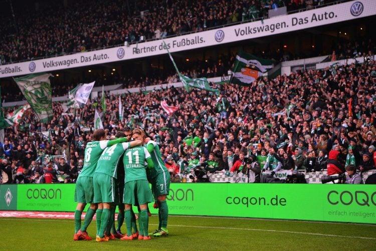 O Werder Bremen tem uma das maiores torcidas da Alemanha