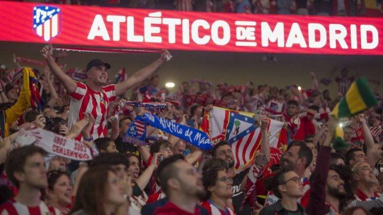 O Atletico de Madrid tem uma das maiores torcidas da Espaha