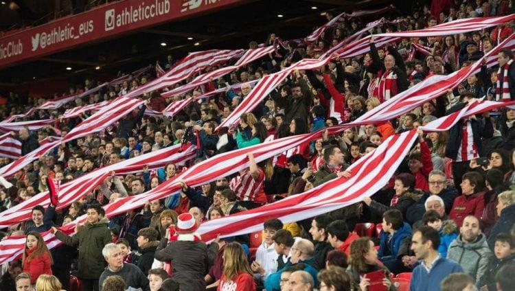 O Athletic Bilbao tem uma das maiores torcidas da Espanha