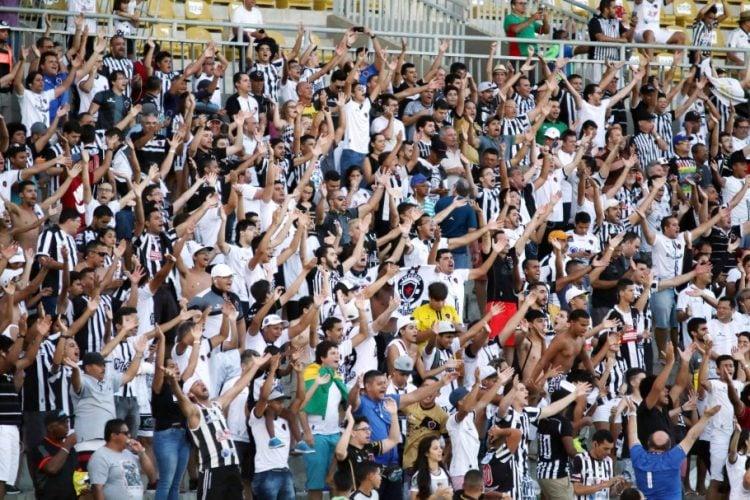 O Botafogo não tem a maior torcida do Nordeste, apesar de ser maior na Paraíba