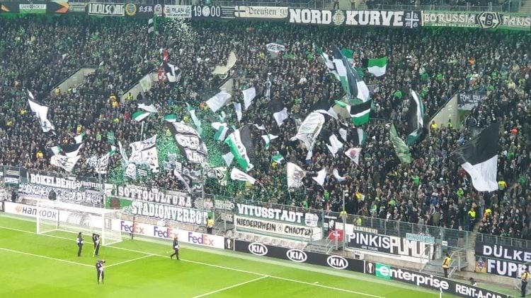 O Borussia Monchengladbach tem uma das maiores torcidas da Alemanha